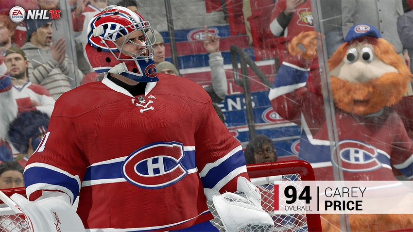 1. Carey Price - Montreal Canadiens