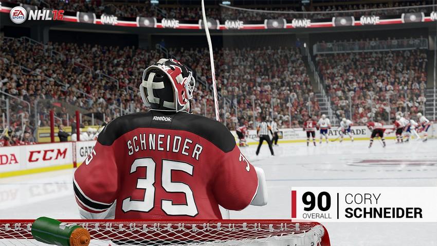 8. Cory SChneider - New Jersey Devils