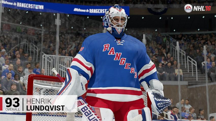 2. Henrik Lundqvist - New York Rangers