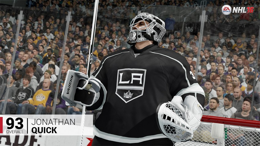 3. Jonathan Quick - Los Angeles Kings