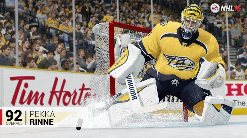 5. Pekka Rinne - Nashville Predators