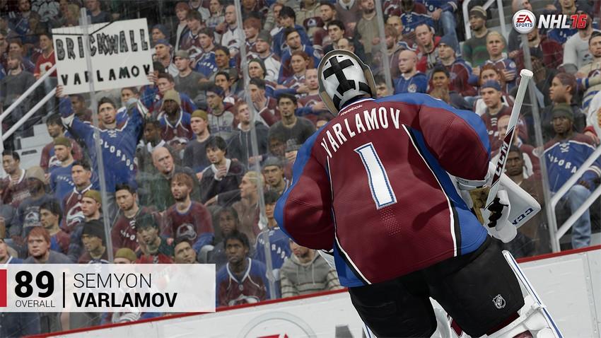 9. Semyon Varlamov - Colorado Avalanche