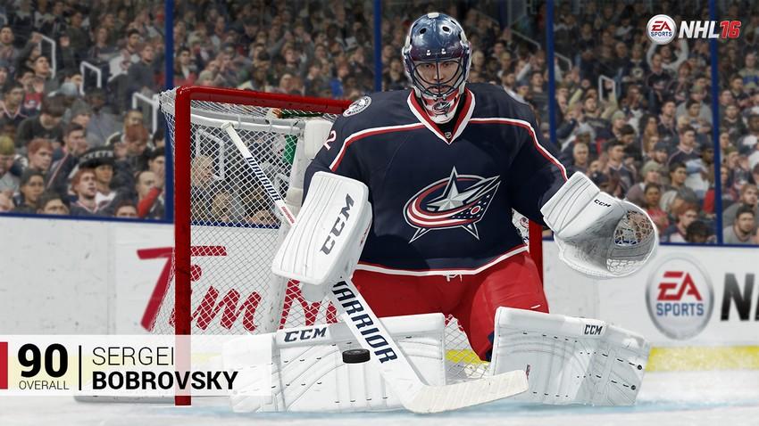 7. Sergei Bobrovsky - Columbus Blue Jackets