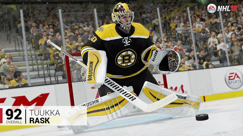 4. Tuukka Rask - Boston Bruins