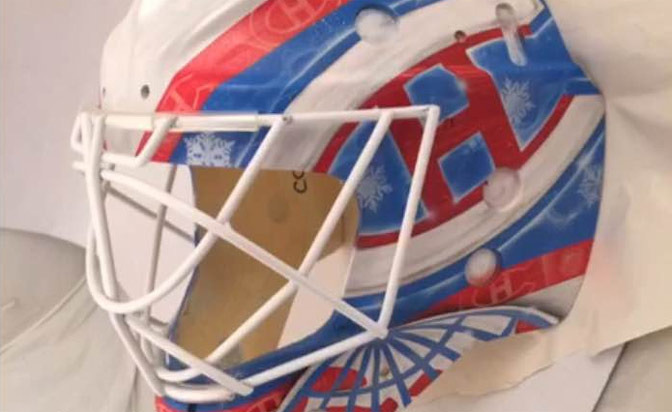 Mike Condon Winter Classic Mask