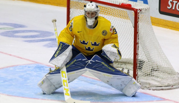 Own Linus Soderstrom's Team Sweden Bauer Supreme 1S Gear | Goalie