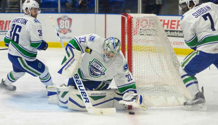 Richard Bachman of the Utica Comets