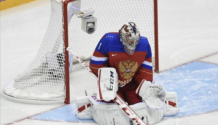 Semyon Varlamov Team Russia