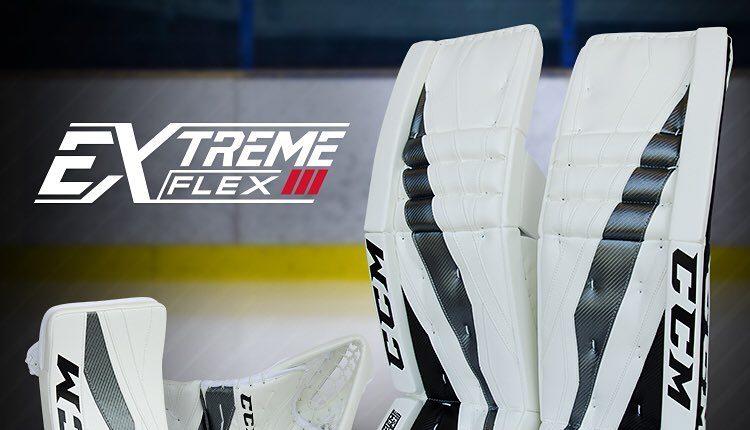 CCM Extreme Flex 3 Goal Pads