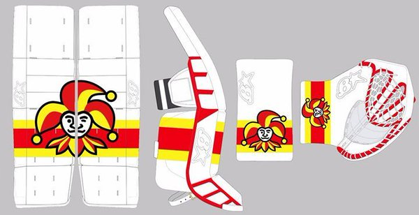Ryan Zapolski Jokerit Goalie Pad Setup