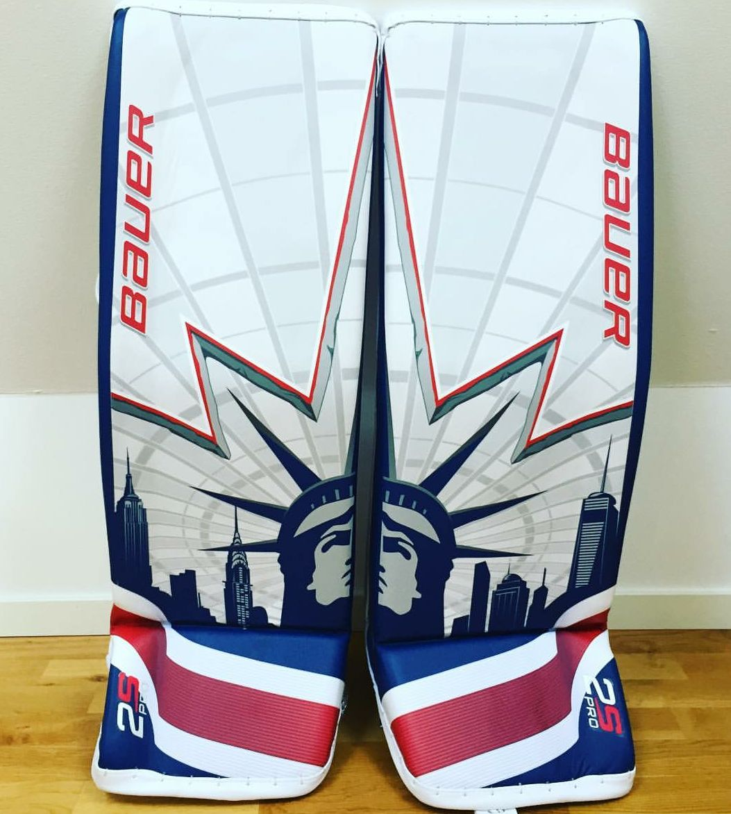 Bauer Supreme 2S OD1N Goalie Pads | Goalie Gear Nation